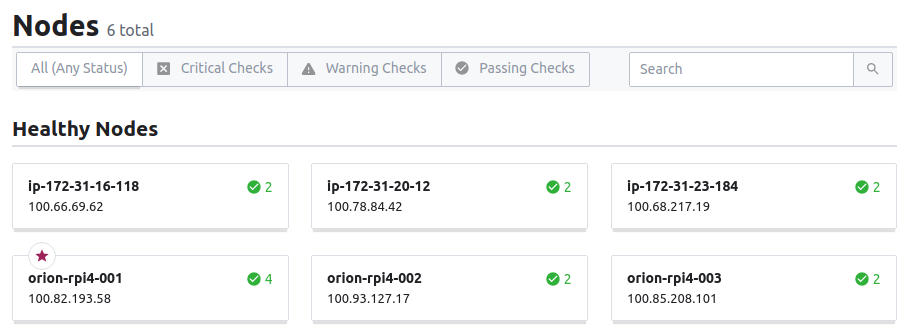 additional clients running on AWS are joining the cluster