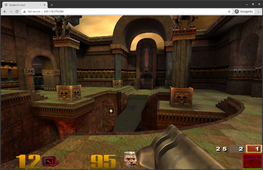 Quake III in the browser!